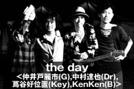 the day<仲井戸麗市(G),中村達也(Dr),蔦谷好位置(Key),KenKen(B)>